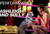 Ashleigh and Sully - Canine Freestyle - America's Got Talent 2019